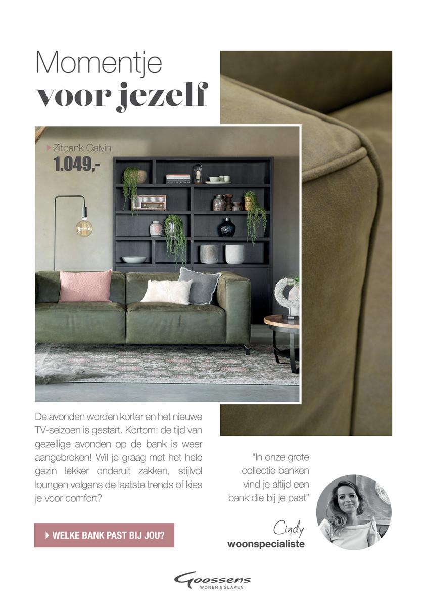 Goossens Design Bank.Reclamefolder 2019 Goossens Week36 18 Pagina 16 17