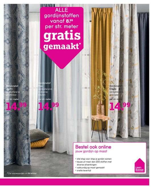 Amazing Leenbakker Gordijnen Gratis Gemaakt fotos - Ideeën & Huis ...
