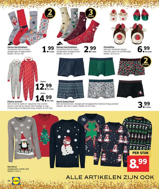 Lidl Kersttrui 2019.Reclamefolder 2019 Lidl Kerst V2 Pagina 24 25